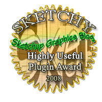 Highly coveted award for outstanding Sketchup plugin or tool